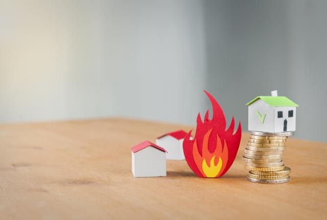 風災による損害は火災保険で対応可能