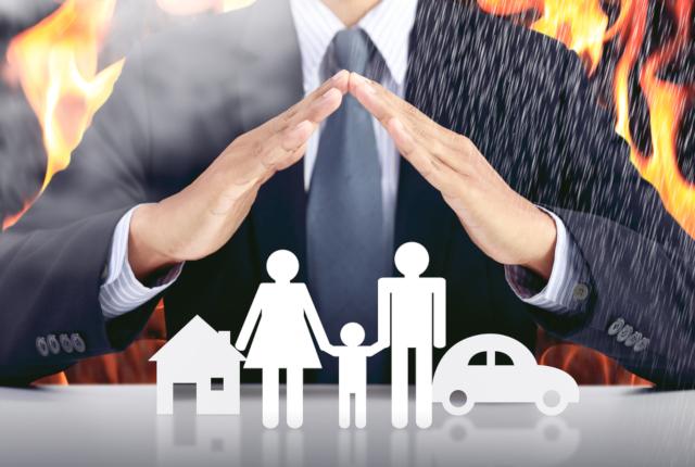 台風による損害は火災保険で補償されます
